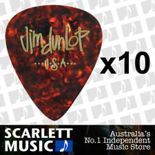 10 x Jim Dunlop Genuine Celluloid Shell Classics Extra X-Heavy Guitar Picks