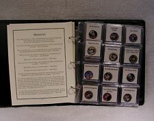 Elvis Presley Colorized State Quarter Coin Collection - Music Commemorative