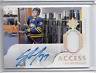 2018-19 UD Ultimate Access Casey Mittelstadt jsy auto 35/125 Buffalo Sabres