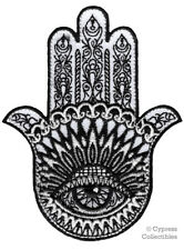 HAMSA HAND IRON-ON PATCH embroidered GOOD LUCK PALM EYE of PROVIDENCE FATIMA new