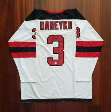 Ken Daneyko Signed Autographed Jersey New Jersey Devils JSA
