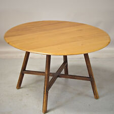 Drop Leaf Dining Kitchen Table - Elm, 1960s, Ercol (Delivery Available)