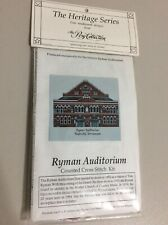 Counted Cross Stich Kit Heritage Series Ryman Audiorium New by Posy Lough