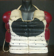 Antique 1920's Early 1930's SPALDING Baseball Hockey Catchers Chest Protector