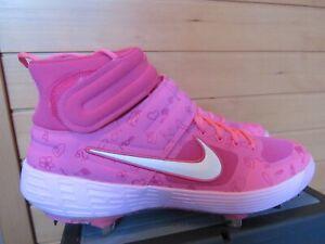 Nike Alpha Huarache Elite 2 Mothers Day Baseball Cleats Mens Sz 9.5 CI2227-603
