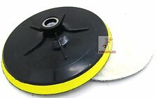 "New 6"" Polishing Wheel w/ Backing Pad Buffing Polishing Wheel Auto Car"