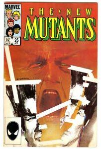 New Mutants #26 (1985) Fine+ New Collection 1st Legion