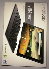 "Intel Netbook Smartab 10"" HD IPS Touchscreen 64bit Quad-Core 32GB Webcams WiFi"