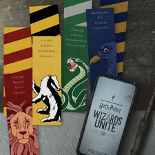 Harry Potter Bookmarks / Hogwarts House Inspired Bookmarks - Set of 4
