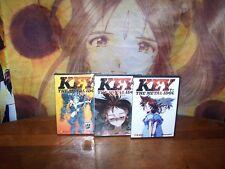 Key the Metal Idol - Vol 1,2,3 Complete Collection BRAND NEW Anime DVD VIZ MEDIA