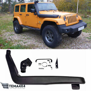 Snorkel Kit For Jeep Wrangler JK  2007-2011 3.8 V6 gas Air Intake Ram