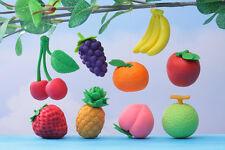 Japanese Iwako 9 Fruits Apple, Melon, Peach, Grapes etc Puzzle Rubber Eraser Set