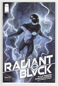 Radiant Black #1 Aaron Bartling TRADE Variant Cover * GEMINI SHIPPING