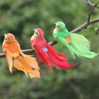 1 unid mini pluma espuma artificial pájaro boda decorativa decoración del ho*ws