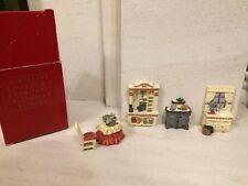 Avon Miniature Victorian Kitchen Collectibles