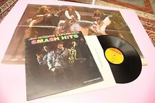 JIMI HENDRIX LP SMASH HITS ORIG USA 1968 BI TONAL LABEL EX WITH GIANT POSTER !