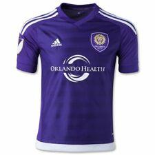 Nwt adidas Orlando City Sc Authentic 2015 Soccer Jersey 7418A, Purple, Sz Xl