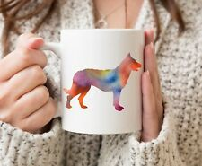 Beauceron Mug - Beauceron Dog Lover Gift - Watercolor Beauceron Mug