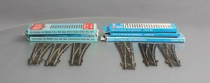 Peco HO Scale Assorted Left Hand & Right Hand Switch/Turnouts [6]/Box