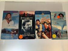 vhs lot : city slickers / tall tale / dances with wolves and spirit of the eagle