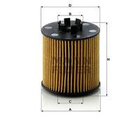 MANN Oil Filter HU712/6X Volkswagen 03C 115 562