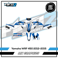 Yamaha WRF Graphics Kit 450 F 2012 2013 2014 2015 Motocross Decals