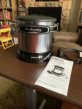 Presto FryDaddy Elite 05426 Deep Fryer Electric 4 Cups NWOB