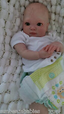 DONNA RUBERT, SUNBEAMBABIES CHILDS NEW REBORN NEWBORN DOLL FAKE BABY LIFE LIKE