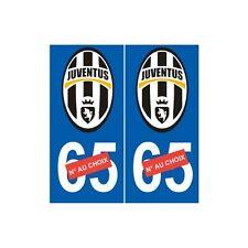 Juventus de Turin Juve sticker numéro au choix autocollant Foot droits