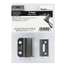 [Wahl] 000 Adjustable 2-Hole Clipper Blade 2191 Magic Clip Senior Icon S. Taper