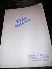 Vintage Fiat aviation marketing catalogue