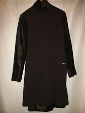 WOMEN'S SIZE 6, 100% WOOL, BROWN, TURTLENECK DRESS BY GIANFRANCO FERRE!