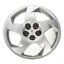"OEM NEW 16"" 5 Spoke Wheel Hub Cap Silver w/Pontiac Logo 03-10 Vibe 22676859"