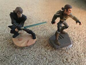 Disney Infinity Anakin Skywalker & Kanan Jarrus Star Wars 3.0 1000213 &1000200