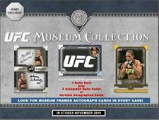 Topps UFC Museum Collection Hobby 12-Box Case