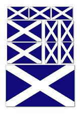 10 x Scotland Flag Vinyle Voiture Van Ipad Laptop Stickers