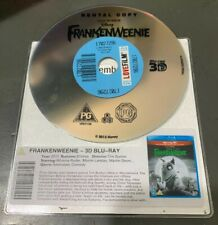 FRANKENWEENIE (3D BLU RAY) DISC ONLY Ex Rental No Case Kids Halloween Burton
