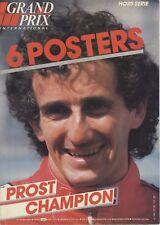 GRAND PRIX INTERNATIONAL Hors série 6 posters Alain Prost