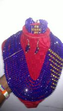 10-Rows Queens Chain-African Bead Jewelries
