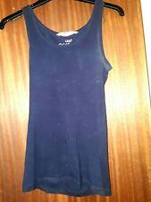 Dark blue vest top, h&m, size xs