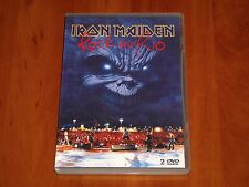 IRON MAIDEN 2001 ROCK IN RIO 2x DVD LIVE CONCERT RARE TOUR FOOTAGE INTERVIEW New