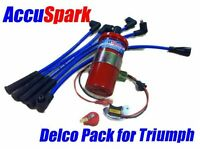 Triumph Vitesse GT6 and TR6  Electronic ignition / DELCO Bargain Pack+ Red Rotor