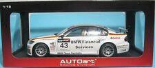 "1 18 Autoart 80648 BMW 320si WTCC ""2006"" #43 (dirk Müller) Rare"