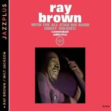 RAY BROWN & ALL-STAR BAND/RAY BROWN (BASS) - RAY BROWN WITH THE ALL-STAR BIG BAN
