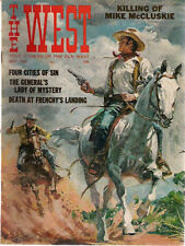 THE WEST Magazine May 1965 Douglas Rosa cover