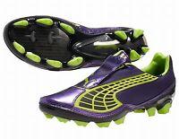 Puma Men's / Boys V1.10 i FG Firm Ground Football Boots purple UK 7