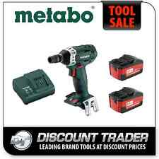 "Metabo 1/2"" 18 Volt Lithium-Ion 4.0Ah Cordless Impact Wrench Kit - SSW 18 LT"