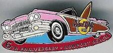 Hard Rock Cafe NEWPORT BEACH 1998 6th Anniversary PIN Pink Cadillac
