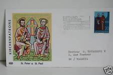 ENVELOPPE PREMIER JOUR - LIECHTENSTEIN PIERRE PAUL 1969