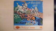 Mercury/Childcraft Record The BILLY GOATS GRUFF Narrated Boris Karloff 78rpm 50s